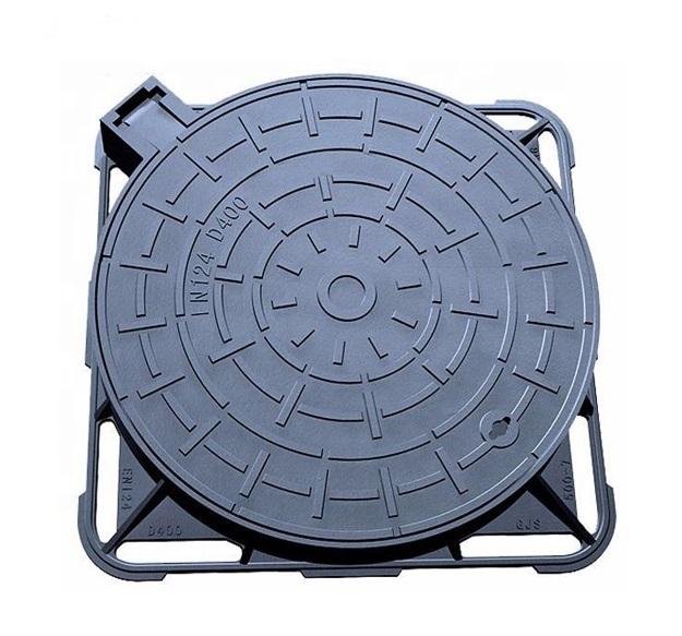 Square Frame Iron Manhole Cover D400 Jpg
