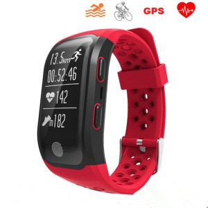 Smart GPS Band Silicone Bracelet Watch for Men