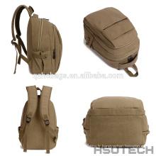 Nouveau Sac à dos d'école de sac à dos de sac à dos de conception de toile