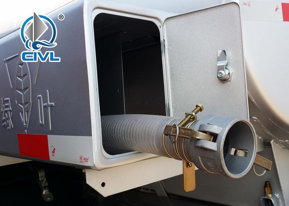 6x6 Fuel Tanker Truck 2
