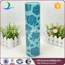 Chinesische Stil Keramik Blume Vase Zylinder