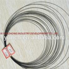 Fio de nitinol de alta qualidade 3mm preço por kg