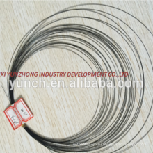 высокое качество нитиноловой проволоки 3 мм Цена за кг