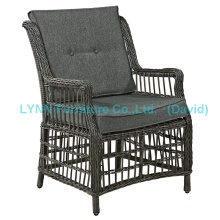 Patio Armchair Round Rattan Single Sofa Garden Furniture