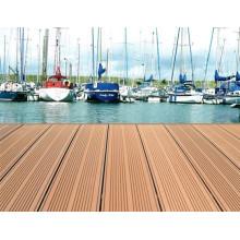 Wood Plastic Composite-Terrassendielen für Swimmingpool