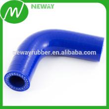 Customizado 90 ° Silicon / Silicone Hose Elbow