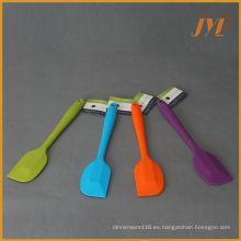 Logotipo personalizado Mejor conjunto de espátula de silicona sin bpa