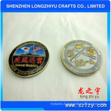 Both Sides Epoxy Coin Marine Corps Coin Flags Coin (LZY280)