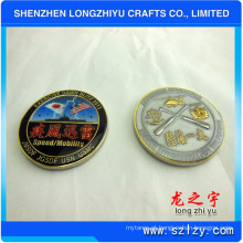 A moeda do Corpo do Marines da moeda da cola epoxy dos lados ambos representa a moeda (LZY280)