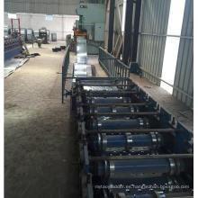 Profesional perforada máquina de tablón de escalera de andamios de acero inoxidable