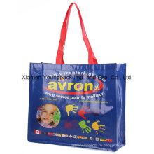 Рекламные пользовательские печатных Реклама PP пластиковых тканые Tote Bag