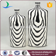 Zebra-Streifen Dekoration Vase Made in China