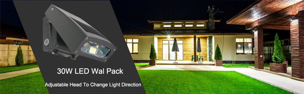 Led Wall Pack 100W Equivalent