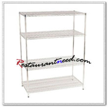P264 355mm Chrome Plated Cold Room Wire Shelving
