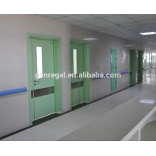 Porta de hospital de crianças de madeira bonito cor