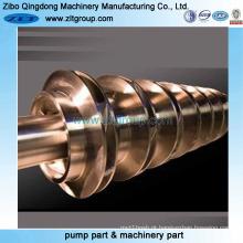 Eixo fazendo à máquina de aço inoxidável de OEM / ODM para 316ss / CD4