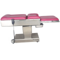 304 Stainless Steel Structure Gynecological Bed
