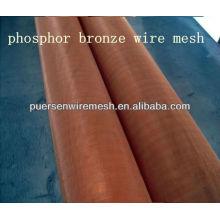 2013 malla de alambre de bronce de fósforo de alta calidad