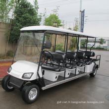 Bus de tourisme à essence 6 passagers avec deux retour vers le siège