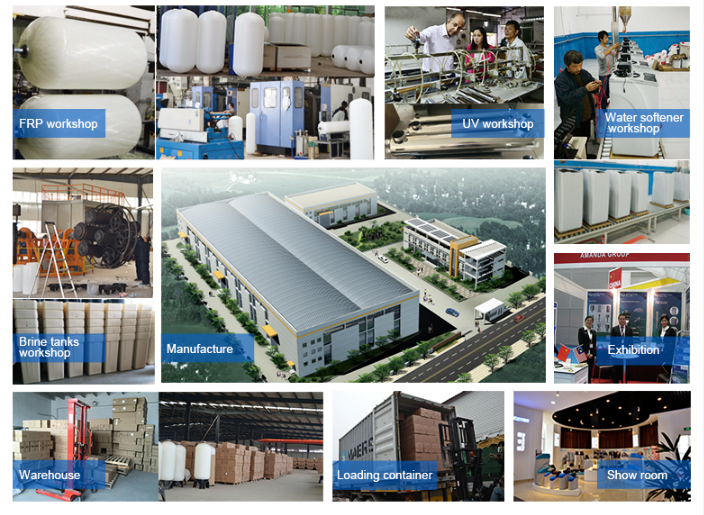 water softener factory warehouse
