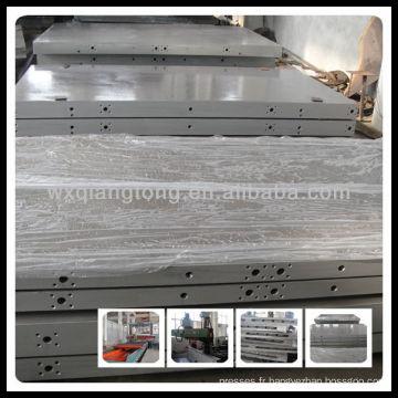 Plaque de chauffage Wuxi pour machine à presser