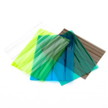 Запатентованный структурный PC-тисненый и гофрированный лист