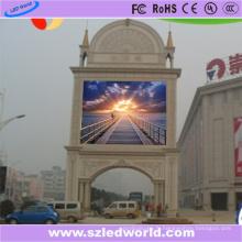 Module polychrome extérieur de panneau de panneau d'affichage à LED de l'intense luminosité P10 SMD3535 pour la publicité