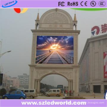 Módulo a todo color al aire libre del tablero del panel de la pantalla LED del alto brillo SMD3535 de P10 para hacer publicidad