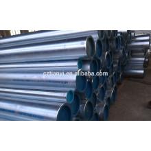 ASTM A53 GRB SCH80 tubo de acero sin costura de carbono
