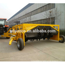 tractor towable compost turner machine widely used in Oman and Russia