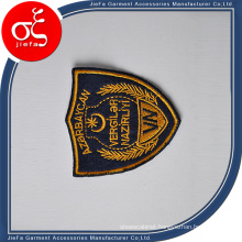 Manufacture Low Price Embroidery Badge with Heat Press