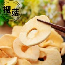 Chips de fruta liofilizada Frutas orgánicas rebanadas Chips de manzana secos