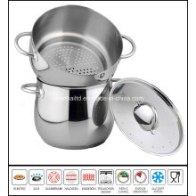 Deep Soup Pot with Steamer