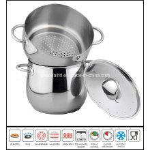 Deep Soup Pot with Steamer