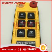 WECAN - 600S 10A 6-кнопочный беспроводной пульт дистанционного управления