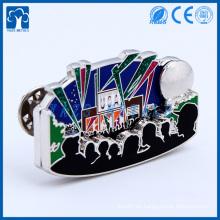 fábrica de metal personalizada para los metales personalizados insignia de regalo para la decoración