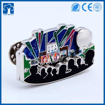 Fabrique de métaux sur mesure pour badges personnalisés en métal pour cadeau pour décoration