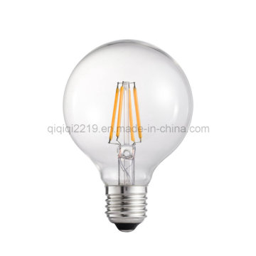 Bulbo do filamento do diodo emissor de luz do golfe 80mm 3W E26 Dimmable