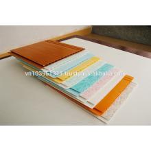 60%PVC, 1.6kg/m2, hollow sheet PVC ceiling panel