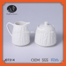 Milk Bowl Sugar Bowl,sugar pot and milk pot,ceramic sugar and milk pot
