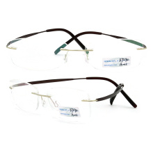 Titanium Rimless Eyeglasses Frames (BJ12-294)