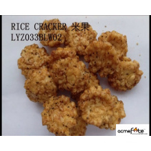 Biscoito de arroz crocante de sabor diferente