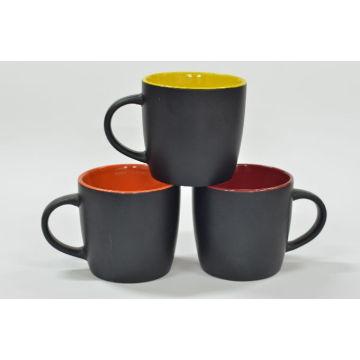 Color Inside Color Rim Black Cup