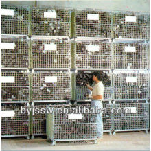 Wire Mesh Container Used for Storage