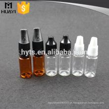10ml / 15ml / 20ml / 30ml / 50ml atacado vidro PET PP diferente material criança conta-gotas conta-gotas e-líquido
