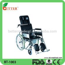 Stahl Liegender Rollstuhl mit Kommode