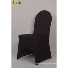 spandex chair cover,lycra chair cover,fit all banquet chairs,high quality,black