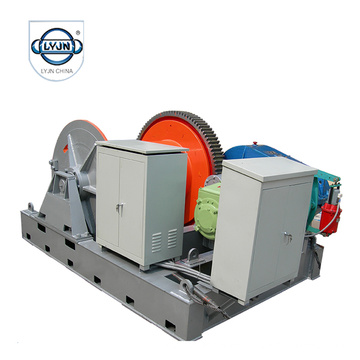 380V Manual Control Fast Speed Electric Winch
