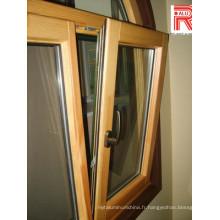 Profil en alliage d'aluminium / aluminium pour fenêtre en verre et mur-rideau (RAL-593)