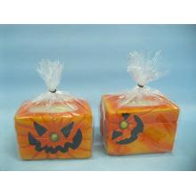 Artisanat en céramique en forme de bougie de Halloween (LOE2368-9z)
